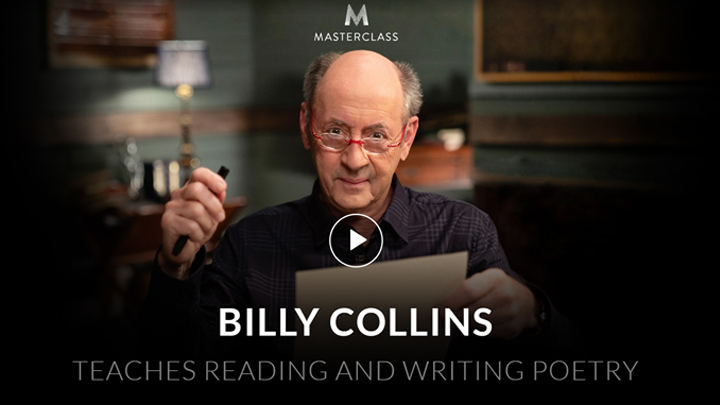 MasterClass: Billy Collins Teaches Reading And Writing Poetry