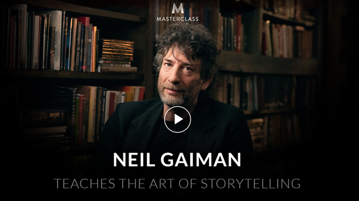MasterClass: Neil Gaiman Teaches The Art Of Storytelling
