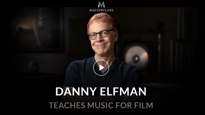 MasterClass: Danny Elfman Teaches Music for Film